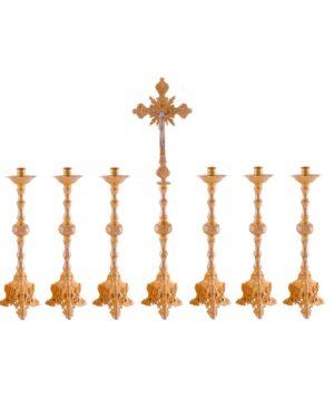 Castiçal c06 – 7 peças vela de altar 00 1