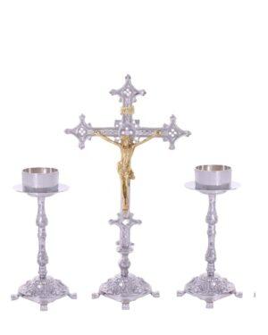 Castiçal c07 – 7 peças vela de altar 0