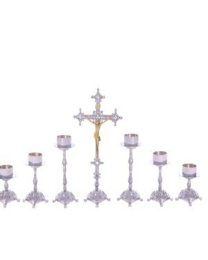 Castiçal c07 – 7 peças vela de altar 1 1
