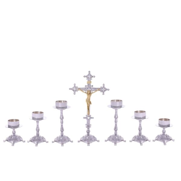 Castiçal c07 – 7 peças vela de altar 1