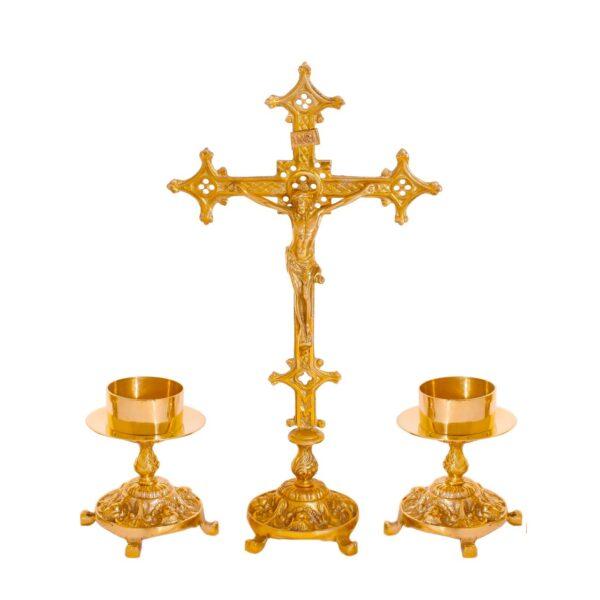 Castiçal c12 – 7 peças vela de altar 0 1