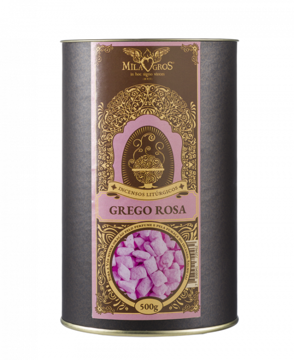 Incenso Milagros Grego Rosa