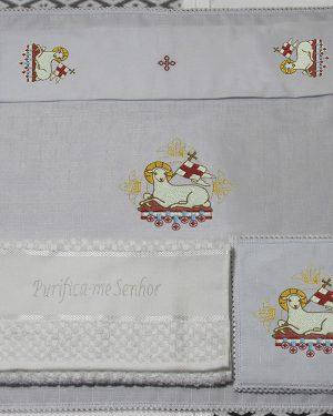 Jogo De Altar Tradicional 16 x 16