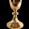 Cálice Italiano Dourado 21 cm