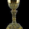 Cálice Italiano Dourado 24 cm