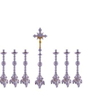 Castiçal c-180 – 7 peças