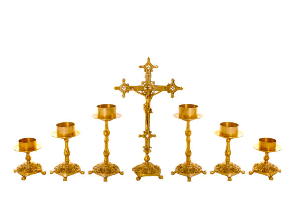 Castiçal c05 – 7 peças vela de altar 0