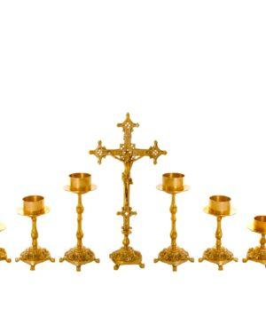 Castiçal c05 – 7 peças vela de altar 1