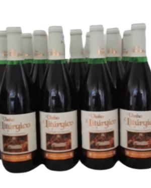Vinho Litúrgico canônico para missa caixa com 12