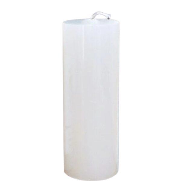 vela de altar 20x7 branca